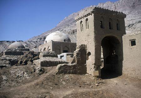 Very old mosque near Turpan Xinjiiang Province,China