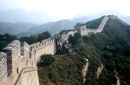 Part of the great Wall near Beijing, China