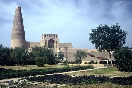 Mosque in Turpan in Xinjiang Province, China
