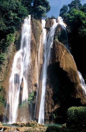 Waterfall near Pyin U Lwin,Myanmar photo
