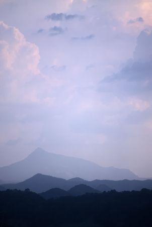 Dramatic Sky in Sri Lanka near Dambulla,Sri Lanka photo