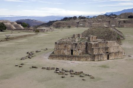 Ancient Zapotec capital of Monte Alban, Mexico Stock Photo - 6504086