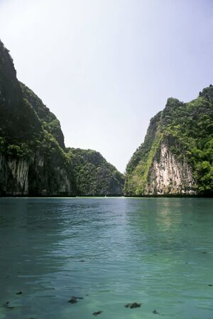 turquise: Turquise Water near the island of Ko Phi Le, Thailand