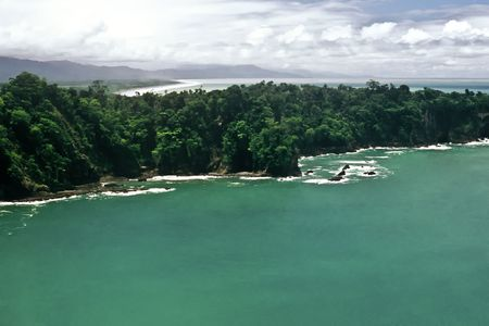 Viewpoint in the Manuel Antonio National Park, Costa Rica