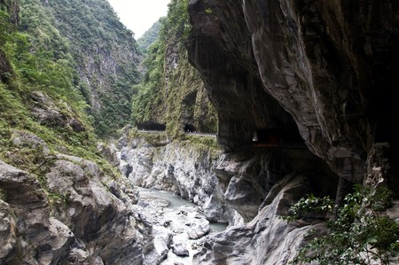 Part of the Taroko Gorge, Taiwan
