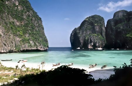 Maya Bay on Ko Phi Phi Le, Thailand