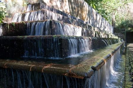 Artificial cascade in the Barranca del Cupititzio national park , Mexico photo
