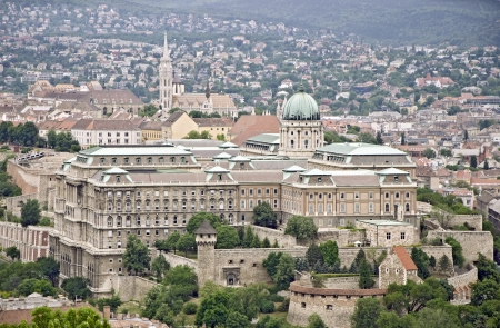 staggered: View over the capital of Hungary, Budapest