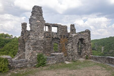 Ancient ruins near the village of Herrstein, Germany Stock Photo - 17445695