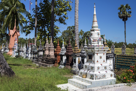 don: Small Temple on Don Khon southern Laos