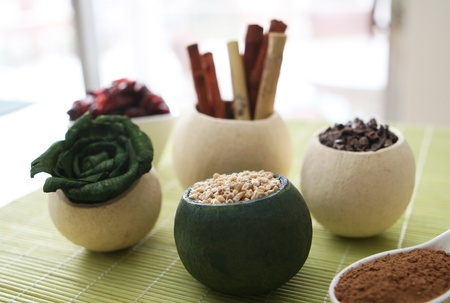organic spa: Healthy ingredients for skincare and well being