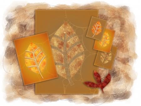 artwork: Autumn Inspired Artwork Background