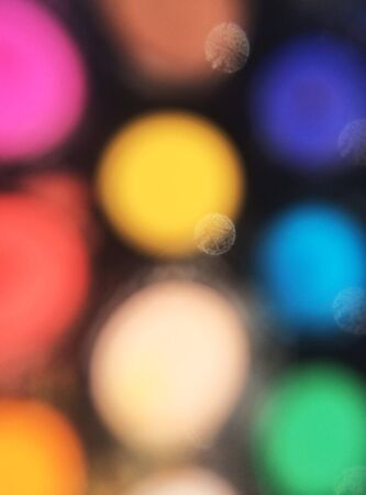 colorful lights: Bright Blurred Colorful Lights Stock Photo