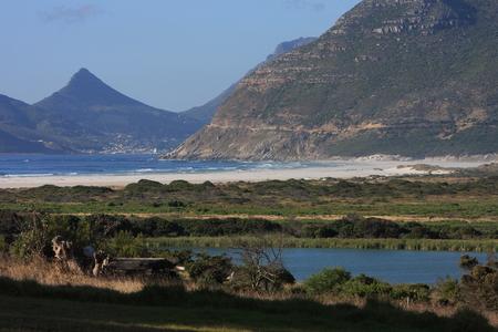 chapmans: Noordhoek Beach view Stock Photo