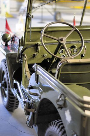 canadian military: Retro Canadian military vehicle