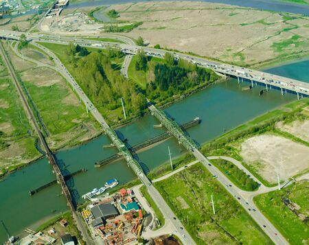Four Bridges - Aerial 新聞圖片