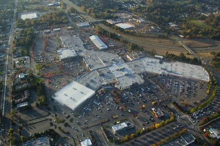 サウス ヒル モール、ワシントンでの航空写真ビュー 報道画像