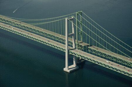 Spire of Tacoma Narrows bridge