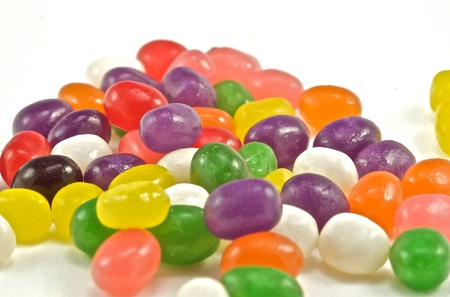 A scrumptious mound of colorful candies photo