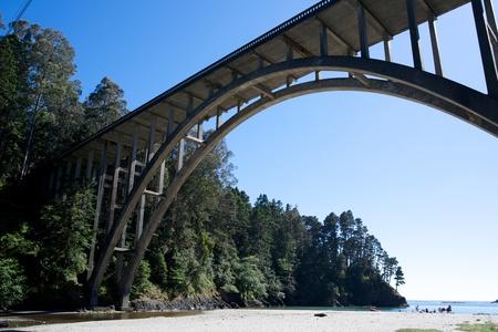 frederick street: Frederick W Panhorse bridge on a sunny day