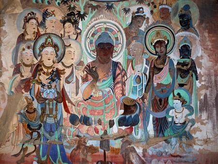 murals: Murals, statues, painting, sculpture, Dunhuang, art