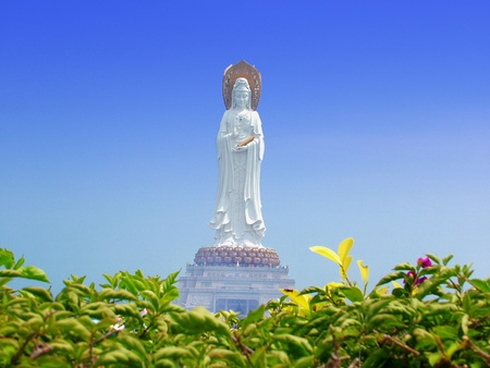 Guanyin, the Goddess of Mercy, God