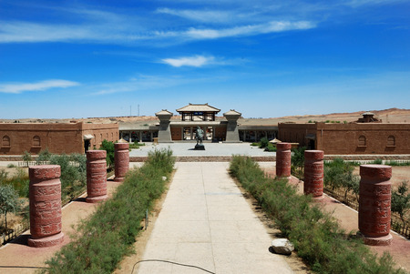 powerhouse: Dunhuang Yangguan, ancient ruins Editorial