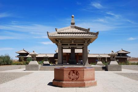 powerhouse: Dunhuang Yang Guan, ancient ruins Editorial