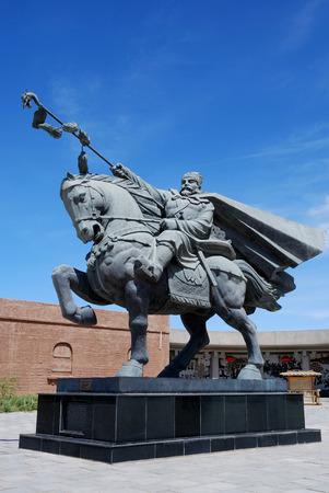 Dunhuang Yang Guan, Zhang Qian statue
