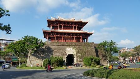 Quanzhou Chaotianmen, de oude stadspoort, Fujian Quanzhou Redactioneel