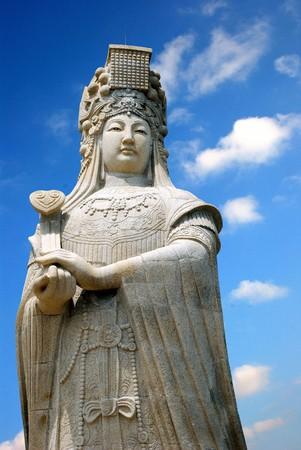 Fujian Putian Meizhou Island Mazu Temple, Mazu Temple, Mazu, Meizhou Island