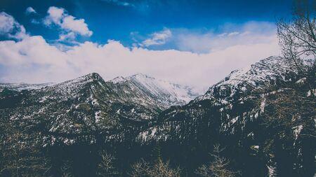 moody mountaintops