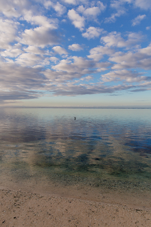 Ocean meditation at dawn