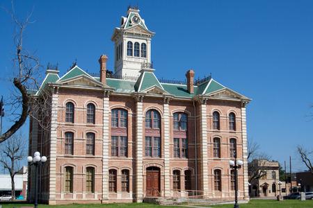 WHARTON, TEXAS, FEBRUARY 2017: The Wharton County Courthouse