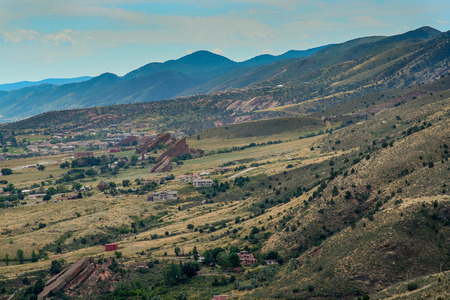 A view from  the Red Rocks State Park 写真素材
