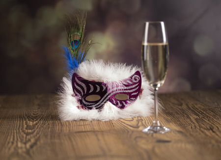 Fancy dress ball or party, balloons, Masked Ball, New Year s Eve