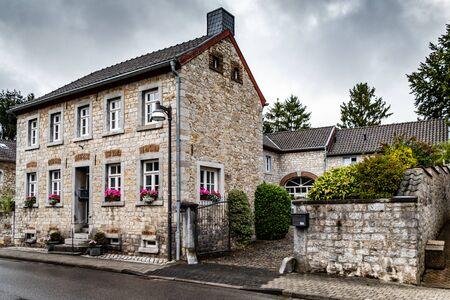 Historical mansion house built around a central compound. Alt Breinig, DE.