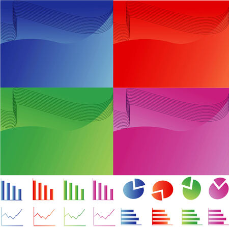 Business Background and Icons