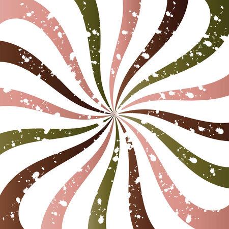 Grungy Swirly Background Vector