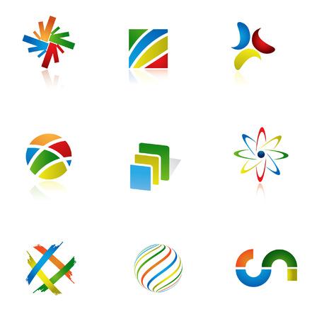 circles vector: Design Elements Illustration