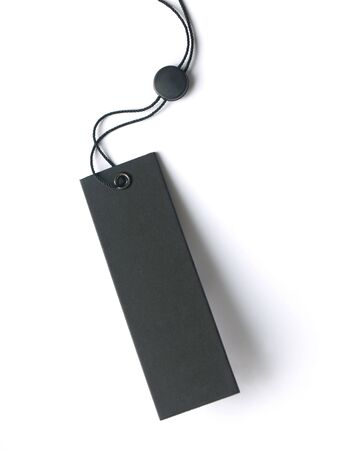 luggage tag: Blank price tag
