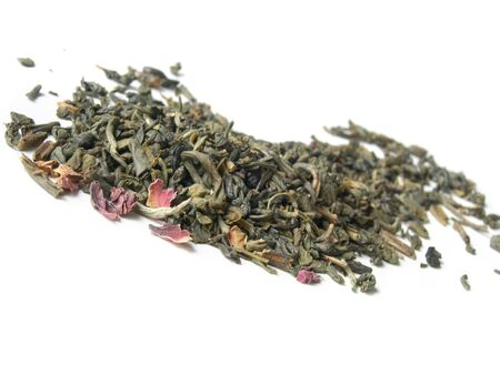 White tea - well known for its many health benefits.