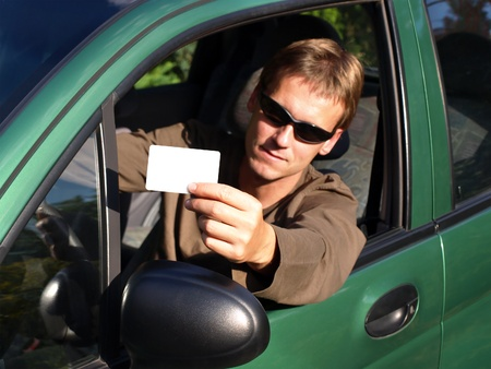 Drivers licence Stock Photo