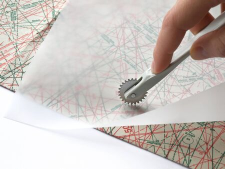sartorial: Creating of clothing patterns using special tool
