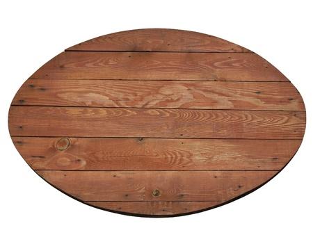 óvalo: Madera cartelera de restaurante étnico