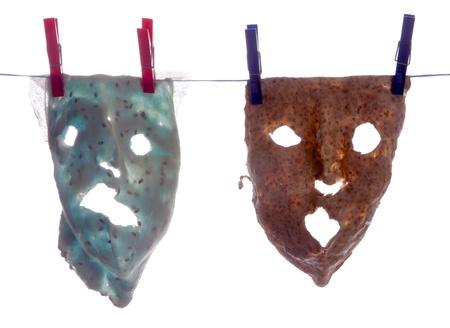 Cosmetic masks after use Standard-Bild