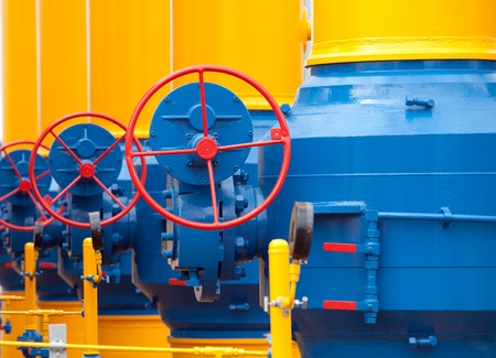 constraction: Elements of  the equipment of modern compressor station