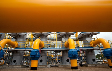 valves: Part of the equipment of modern compressor station