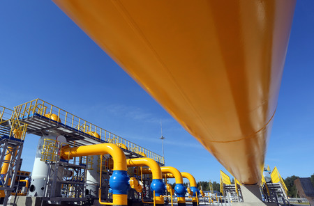 constraction: Part of the equipment of modern compressor station