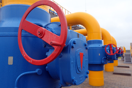 Elements of  the equipment of modern compressor station